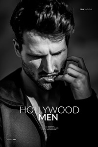 hollywood men editorial